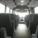33 Passenger Mini Coach Interior 2