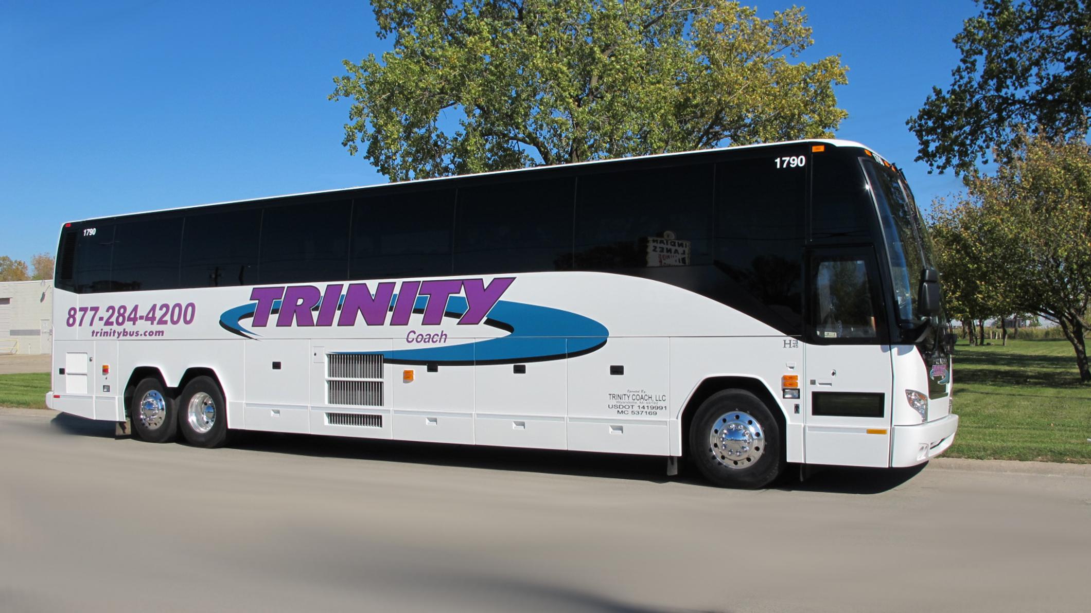 Image Gallery Motor Coach Rentals