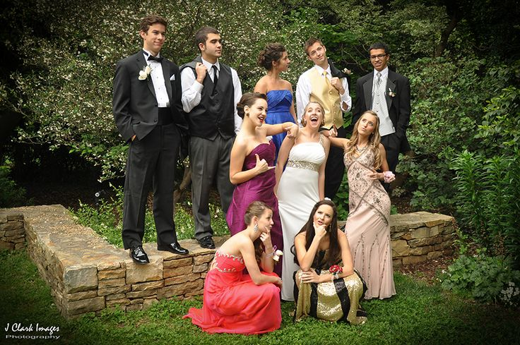 Prom Students