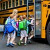 school bus loading