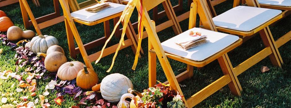 fall wedding slide