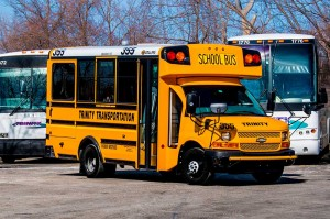 Handicap-mini-school-bus-wide-shot