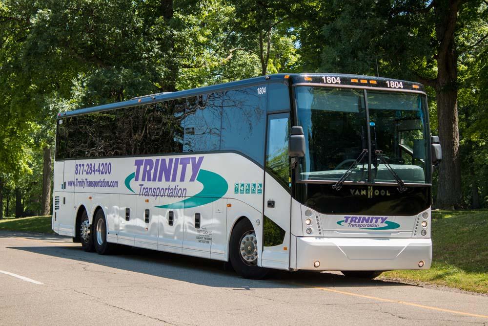 Trinity Transportation Motor Coach Bus