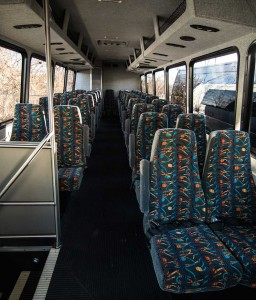 Mini-coach-cloth-seats