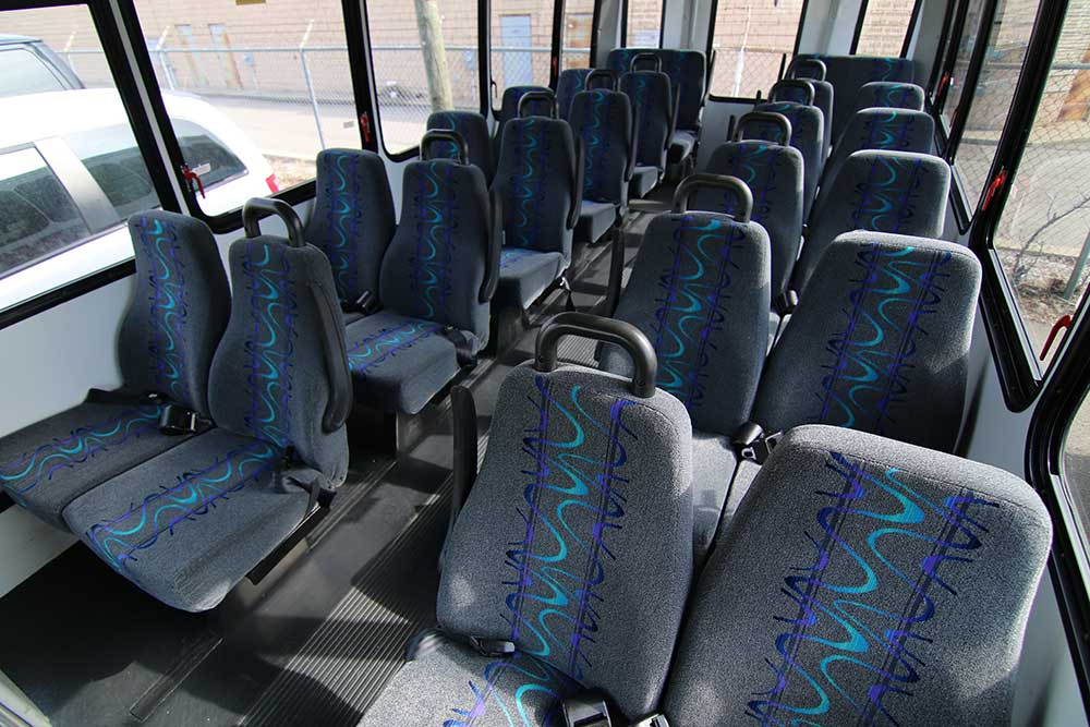 Trinity Transportation Mini Coach Bus