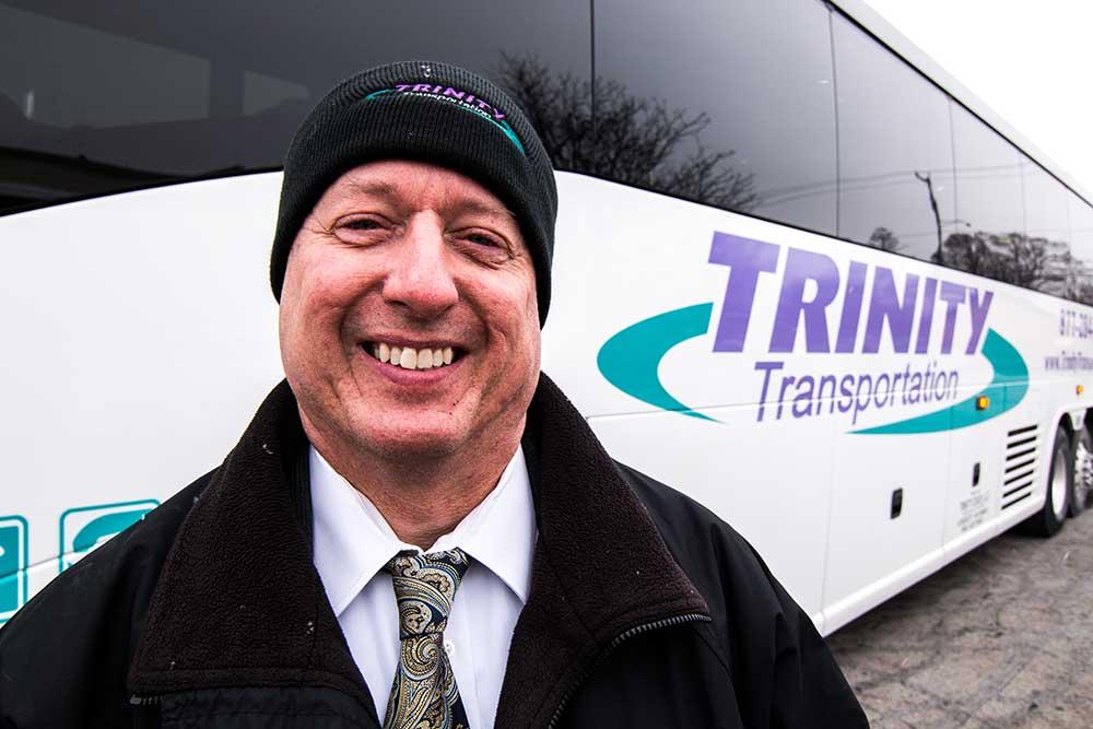 Trinity transportation motor coach bus for Motor coach driving jobs