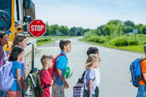 students-exiting-bus